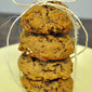 Honey Pumpkin Granola Cookies