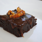 Salted caramel walnut brownies