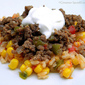 Picadillo with Mexican Rice