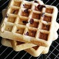 Healthy Wheat Oatmeal Waffles