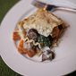 Meatless Monday - Butternut Squash, Spinach, and Mushroom Lasagna