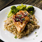 Getting Organized: Lemony Sauced Chicken Breasts and Mushroom Risotto