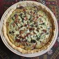 Hatch green chile bacon pie