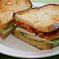 Mayonnaise (Recipe: bacon, lettuce and tomato sandwich with turkey and chipotle mayo)