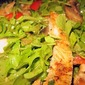 Organic Baby Arugula and Chicken Salad - Angel's Style