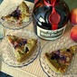 PEACH berry Grand Marnier cake