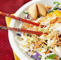 Thai Salad with Sesame Ginger Dressing