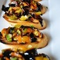 Tomato Bruschetta with Balsamic Reduction