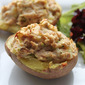 Twice Baked Tuna Potato