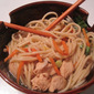 Ginger Vegetable Chicken Noodle Bowl