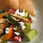 Heirloom Tomatoes Fattoush