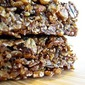 Molasses Ginger Granola Bars