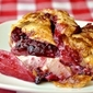 Easy Partridgberry Pear and Cream Cheese Strudel