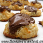 Macaroon Cookies Dipped In Chocolate