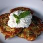Greek Zucchini Fritters or Kolokithokeftedes