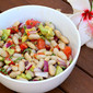 White Bean Salad with Lemon Vinaigrette
