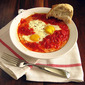 Baked Eggs in Tomato Sauce: It's What's for Dinner