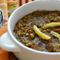 Preserved lemons (Recipe: slow cooker lentil and brown rice soup with preserved lemons and garlic sausage)