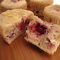 Berry Cottage Cheese Muffins