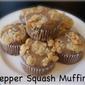 Pepper Squash Muffins