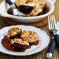 Recipe for Roasted Figs with Goat Cheese and Balsamic-Agave Glaze