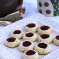 Lemon & Cherry Jam Thumbprint Cookie Recipe