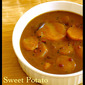 Sweet Potato Vatha Kuzhambu (Spicy Tamarind Gravy)
