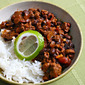 Beer (Recipe: turkey mole chili)