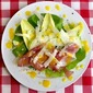 Mango Orange Dressing on Prosciutto Apple Salad