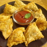 Crispy Vegetable Samosa!!!