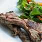 Indian Lamb Chops with Butternut Squash Salad