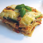 Recipe #178: Zucchini Lasagna (with Fresh Tomato Sauce Made From Scratch!)