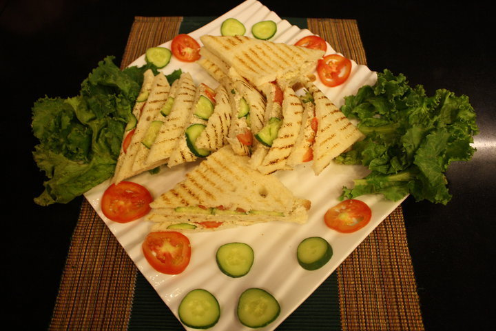 marinated chicken club sandwich recipe taste com au club sandwich ...