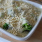 Salmon and Broccoli Crumble