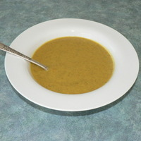 Curried Cream of Veggies Soup