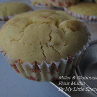 Millet & Glutinous Rice Citrus Muffin