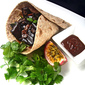 My Kitchen Café #10: Alessio's Chappathi Wrap With Sicilian Style Filling And Dip Sauce