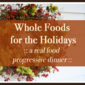 Whole Foods for the Holidays: Black Bean Soup Recipe