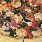 Healthy Shrimp Deluxe Pizza
