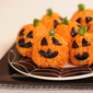 Sugar Free Healthy Halloween Treats – Carrot Rice Ball Mini-Jack o' Lanterns Recipe for Fab Frugal Friday