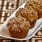 Recipe for Low-Sugar and Whole Wheat Pumpkin Muffins with Pecans