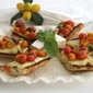 Brie and Roasted Tomato Bruschetta