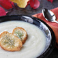 Spicy Potato & Fennel Soup Recipe with Parmesan Bagel Croutons