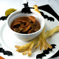 Trick or Treat Soup with Witches Brooms
