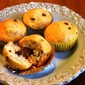 Low Fat Banana Chocolate Chip Muffins