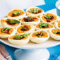 Mini Roated Capsicum Tartlets