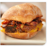 Image of Meatloaf Sliders With Tomato Relish And Cheese Recipe, Cook Eat Share