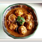 Vazhaipoo Paruppu Urundal Kuzhambu/Banana Blossom Dumplings Gravy