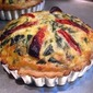 Spinach & Sun Dried Tomato Quiche