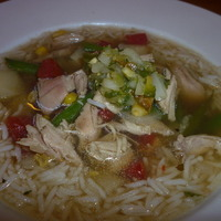 Cumin Chicken Soup